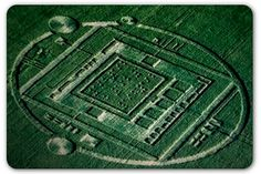 Computer chip company nabs attention with crop circle stunt