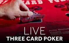 Three Card Poker is one of the most popular casino specialty table games of all time.  Packing all the excitement and suspense of regular poker, it's a fun, fast-paced, easy-to-play game that gives players a number of opportunities to win. Three Card Poker is available at Genting Casino https://www.gentingcasino.com/game/live-three-card-poker/ #casino #poker #gentingcasino