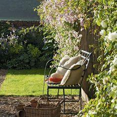 For relaxing in the garden