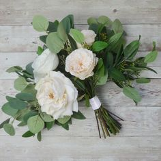 Get ready to make a bridal bouquet for your wedding.  Follow this bouquet DIY from silk flower designer Blue Orchid Creations and walk down the aisle with a han