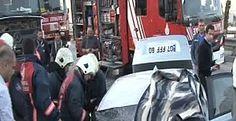 Ataşehir'de feci kaza: 2 ölü 1 ağır yaralı
