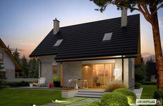 Projekty domów ARCHIPELAG - Oli