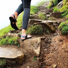 Bedrock sandals, your perfect hiking companion on a misty Scottish summers days Granola, Hiking, Sandals, Sneakers, Check, Summer, Inspiration, Walks, Slide Sandals