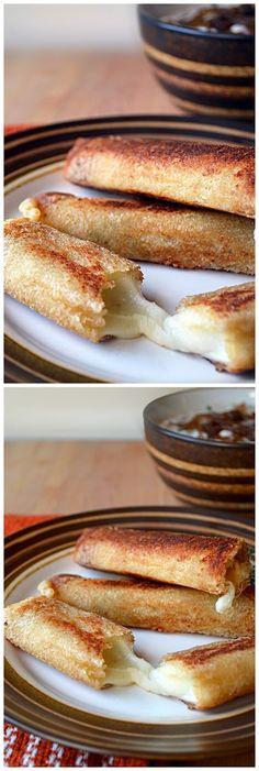 French Onion Dip Sticks ~ Easy Food Recipe Blog