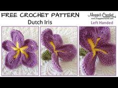 Dutch Iris - Free Crochet Pattern – Maggie's Crochet