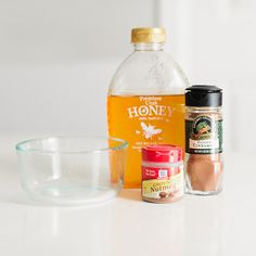 Used to calm stressed out skin as well as acne scars and reducing infection.   -2 TBSP of honey  -1 tsp of cinnamon  -1 tsp nutmeg