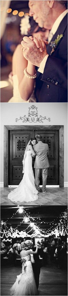 Father-daughter moment wedding photo ideas #wedding #weddingphotos #weddingideas
