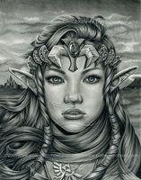Princess Zelda 2009 by pat-mcmichael