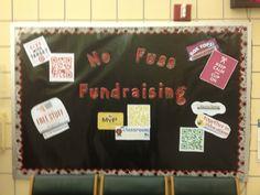 No Fuss Fundraising BoxTops, Labels for Education Bulletin Board Idea