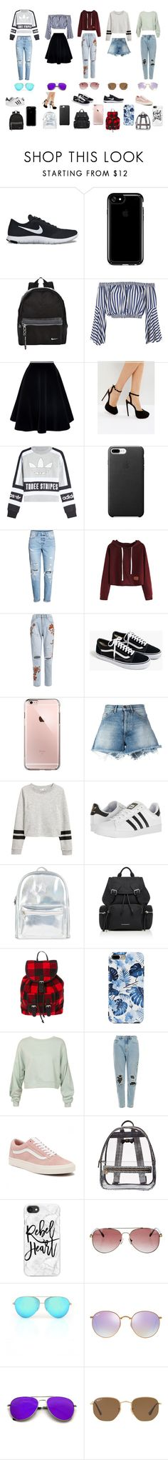 """BBMOD"" by kxjae on Polyvore featuring NIKE, Speck, Love, N°21, ASOS, adidas Originals, H&M, J.Crew, Off-White and adidas"