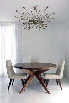 Image result for lustre moderno para sala de jantar