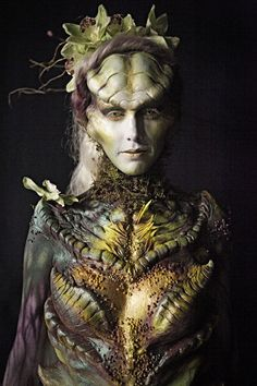 "Face Off Episode 505 ""Mother Earth Goddess"" - Laura  --  This was the winner this week and, my favorite."
