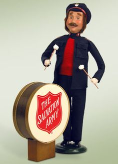Byers Choice Salvation Army Man with Drum