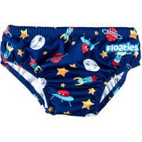 Floaties Swim Nappies Boys Rockets 12-18months - $10.90. Follow the link to buy it instore at http://www.mamadoo.com.au/baby-clothes/baby-swimwear/baby-boy-swimwear/ #mamadoo #baby #boys #swimwear #fashion #cuteas #minifashionista #bathers #boardshorts #hats