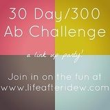 "30 day/300 ab challenge link up. share your results! - I lost 2.5"" around my waist after 30 days. I had to modify quite a few of the exercises at first but after the first 4 days of excruciating pain :P it was amazing how quickly I gained strength! Definitely going to revisit this workout once I've tried a few other things."