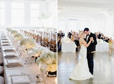 """Amsale - """"Lenox"""" -Beautiful bride and groom at Tribeca Skyline Studios in NYC.  PHOTOS BY CLY BY MATTHEW"""