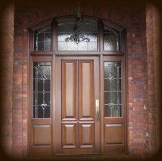 Estate Exterior Mahogany Front Entry Door with Baldwin Hardware Gray Front Door Colors, Bright Front Doors, Purple Front Doors, Painted Front Doors, Entry Doors, Front Entry, Entrance, Door Picture, Front Door Design