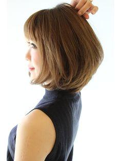 30代40代に人気トップふんわり毛先ワンカールボブ - 24時間いつでもWEB予約OK!ヘアスタイル10万点以上掲載!お気に入りの髪型、人気のヘアスタイルを探すならKirei Style[キレイスタイル]で。