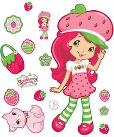 Strawberry Shortcake Magnetic Paper Doll