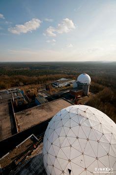 NSA Field Station Teufelsberg | Berlim_Alemanha | Contruído em 1955 e abandonado em 1995