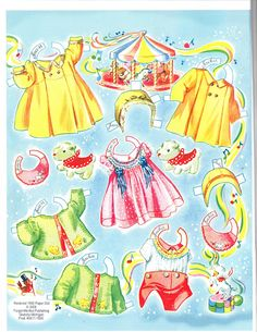 Louise Rumely's Cradle Tots* 1500 free paper dolls at Arielle Gabriel's International Paper Doll Society for other paper doll Pinterest pals...*