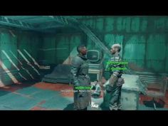 Fallout 4 - Lets Play - The Institute Secret revealed - YouTube