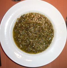 Vegane Grünkohlsuppe mit Buchweizen