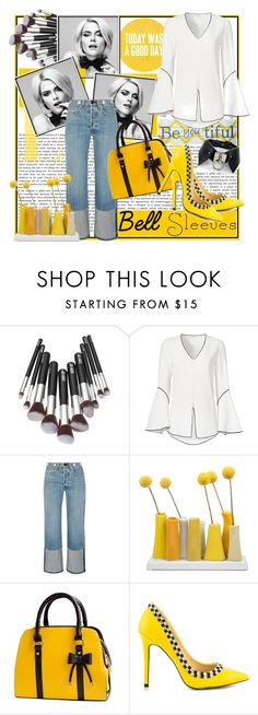 """Today was a good day...."" by tinuviela ❤ liked on Polyvore featuring Derek Lam, rag & bone, Dot & Bo, TaylorSays and bellsleeves"