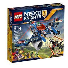 LEGO Nexo Knights 70320 Aaron Fox's Aero-Striker V2 Build... https://www.amazon.com/dp/B01CU9X1G8/ref=cm_sw_r_pi_dp_x_bY6nybZ1J3J42