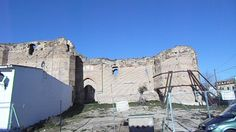 CASARRUBIOS DEL MONTE (TOLEDO). Entrada al Castillo de Casarrubios.