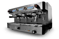 @Riley Plisek Maquinas de cafe expreso Modelo REN. 3GR | Operación: Computer. | Calefaccion: Binorma. #cafe