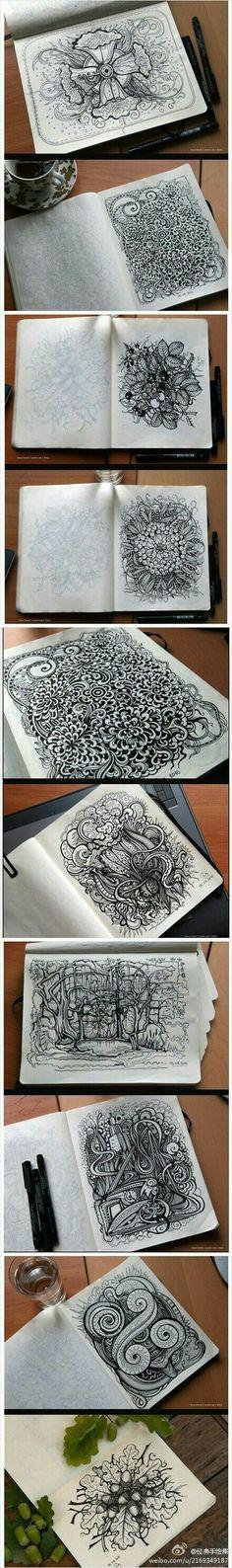 Sketchbook inspiration! #drawings #sketchbook #teachingart