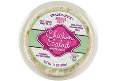 Reduced Guilt Chicken Salad | Trader Joe's $4.49