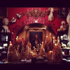 Kat Von D on Instagram her the little cave room she want like quit  place she doing her tattoo at