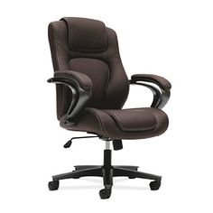 Looking for Swivel Executive Chair HON ? Check out our picks for the Swivel Executive Chair HON from the popular stores - all in one. Herman Miller, Computer Desk Chair, Luxury Chairs, Executive Office Chairs, High Back Chairs, Ootd, Chair Backs, Bonded Leather, Sofa Chair