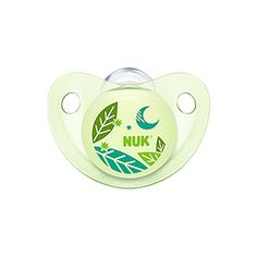 NUK Night and Day Baby Pacifier Glows in the Dark 0-6 m Unisex Silicone 8202-7 #NUK