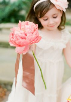 Flower Girl Inspiration - Every wedding needs a flower girl. Here is some inspiration for unique ideas for that special little girl. At The Children's Place, we offer a variety of special occasion dresses, shoes and accessories to complete that look you want.