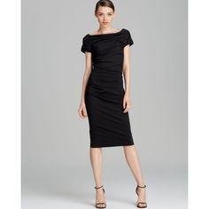 Escada Dress - Donde Short Sleeve Ruched