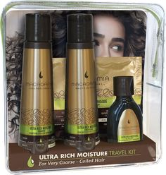 Macadamia Professional Ultra Rich Moisture Travel Kit.
