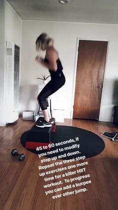 HIIT is likewise responsible for constructing muscle mass. This is since HIIT develops endurance and triggers more blood flow with better contractility to the muscles. Step Aerobic Workout, Step Up Workout, Aerobics Workout, Ab Workout At Home, At Home Workouts, Aerobic Exercises, Cardio Workouts, Step Fitness, Fitness Tips
