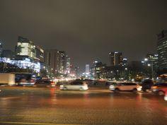 South Korea, Seoul, New York Skyline, Night, Travel, Viajes, Korea, Destinations, Traveling