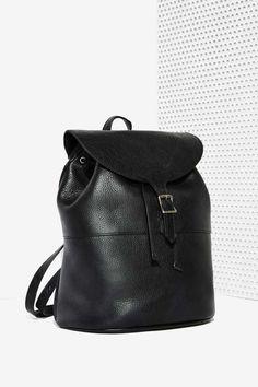 Hide and Seek Leather Backpack//