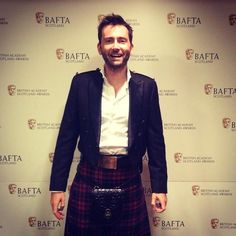 David Tennant @David_Tennant Photo by @BAFTA of David Tennant at #BAFTAScot14