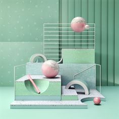 3d, set, design, c4d, cinema4d - ello | ello