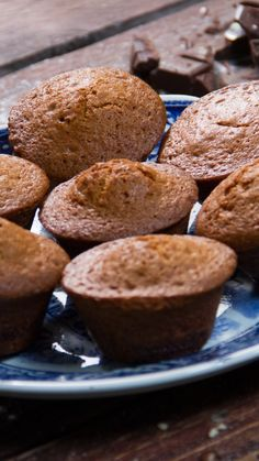 Muffins fourrés au Nutella - New ideas Cakes That Look Like Food, Cookie Recipes, Dessert Recipes, Chocolate Chip Pudding Cookies, Delicious Desserts, Yummy Food, Chocolate Lasagna, Tempura, Cookies Et Biscuits