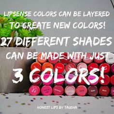 What colors would you like to try!?