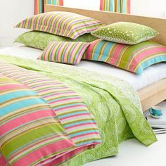 Cabana Bedding Collection from PoshTots - girls room