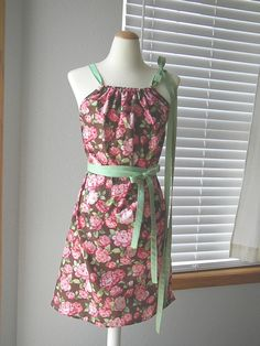 OMG so cute - I have basic sewing skills but I bet I could pull this off! DIY KIT - Women - Pillowcase DRESS - Amy Butler - Pick the size - Junio\u2026 & OMG so cute - I have basic sewing skills but I bet I could pull ... pillowsntoast.com