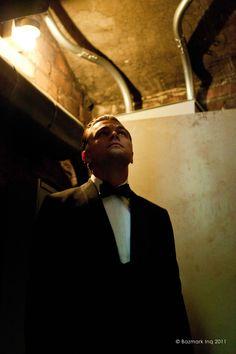 Leonardo DiCaprio, during rehearsal for Baz Luhrmann's The Great Gatsby.