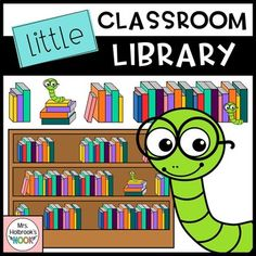 Library Clipart: Lit